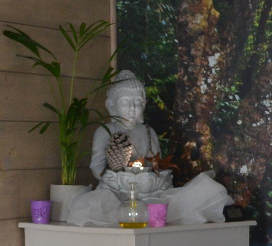 Photo intérieur cabinet AUX 5 SENS buddha